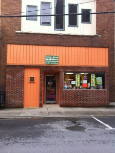 Stratton Street Bookstore in Logan, WV. 03 April 2015