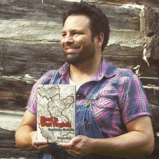 Brandon Kirk at Sol Adams cabin