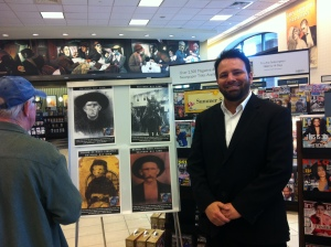 Thanks to Barnes and Noble Booksellers in Morgantown, WV, for hosting us last weekend. We met some amazing people and enjoyed our visit. 29 August 2015