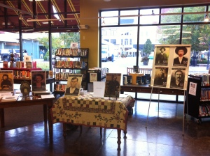 Here is our recent set-up at Empire Books and News in Huntington, WV. 12 September 2015