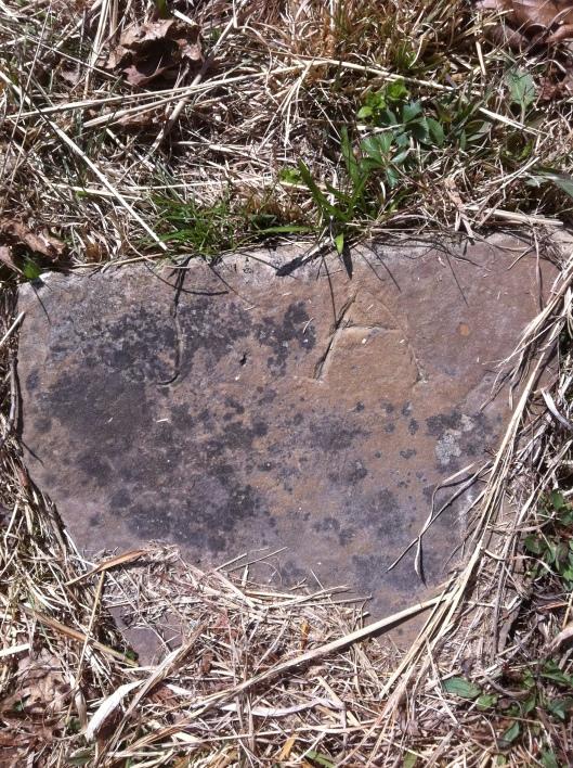 J A grave