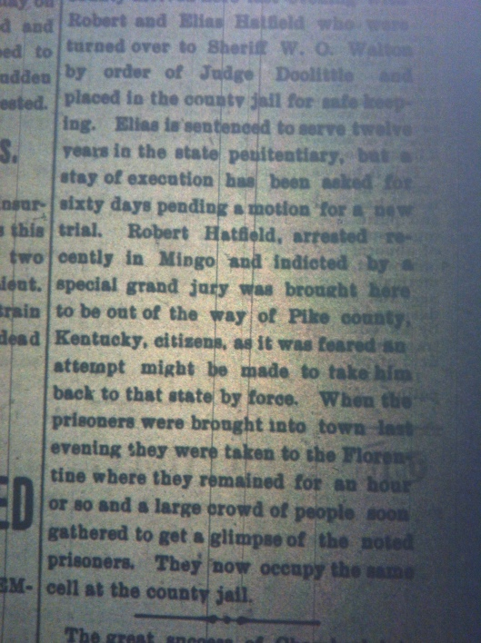 Bob and Elias Hatfield in Jail HA 09.22.1899 2