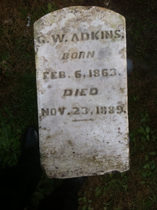 Will Adkins Grave 5