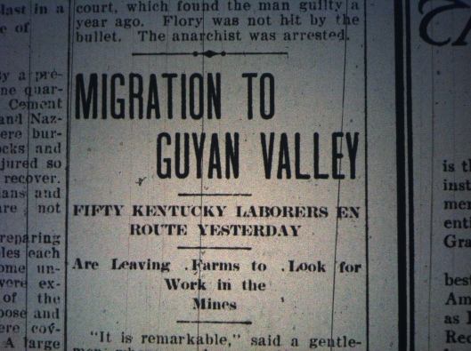 Migration to Guyandotte Valley HA 04.14.1910 1