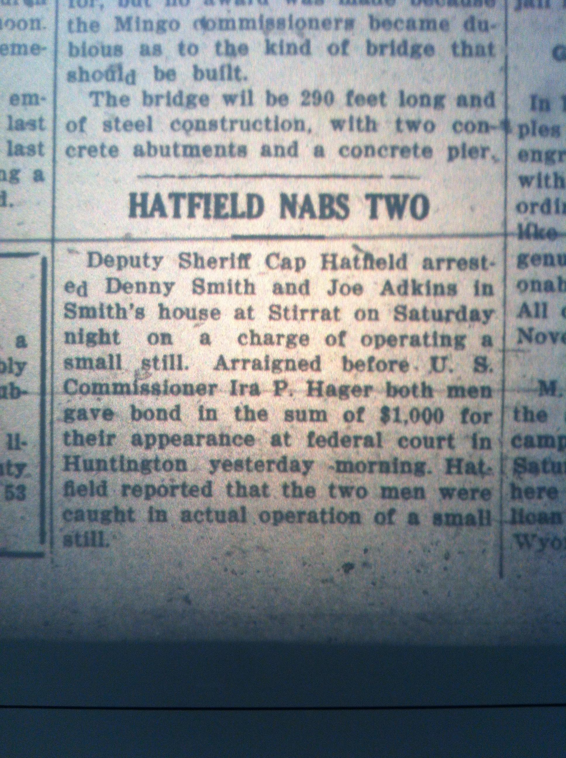 Cap Hatfield Arrests Two LB 10.05.1926.JPG