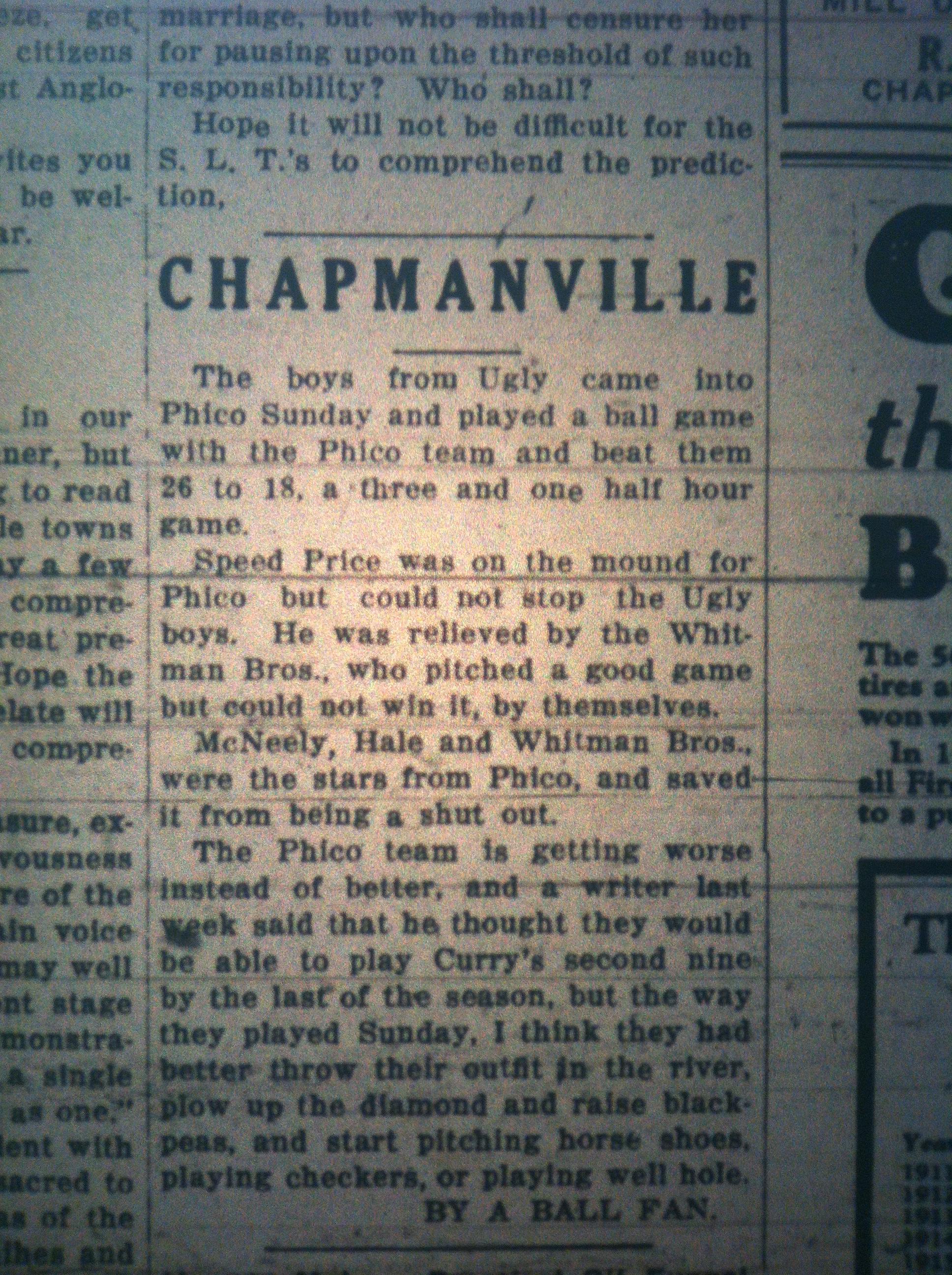 Chapmanville News LB 06.11.1926 1.JPG