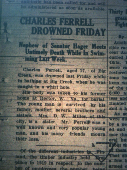 Charles Ferrell of Big Ugly Drowns LB 06.10.1921 1