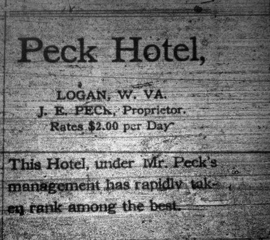 Peck Hotel Ad LD 01.05.1911.JPG