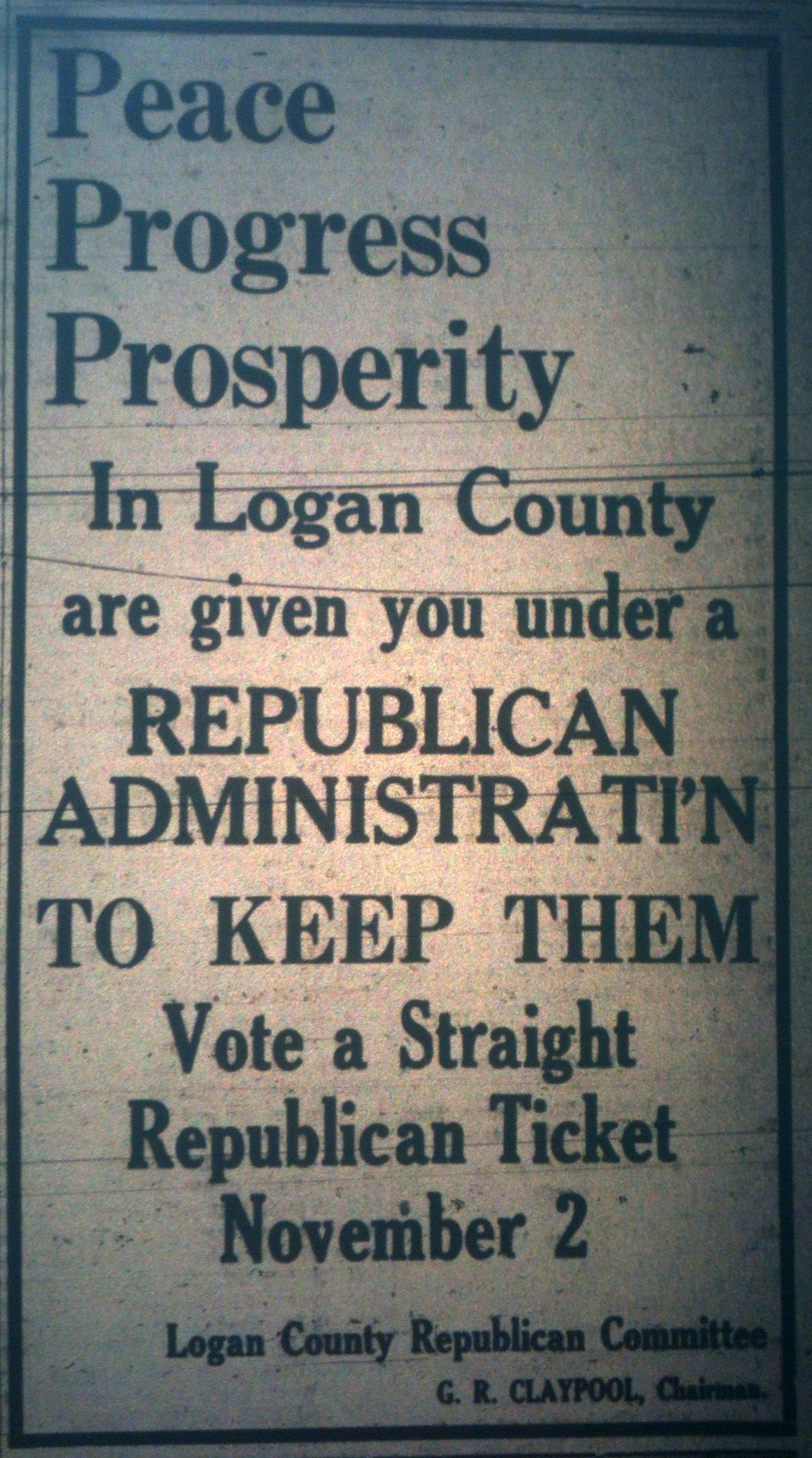 Vote the GOP Straight Ticket LB 10.05.1926.JPG