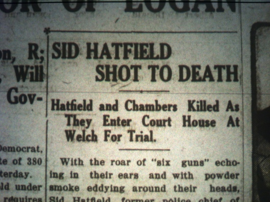 Sid Hatfield Shot to Death LB 08.05.1921 1