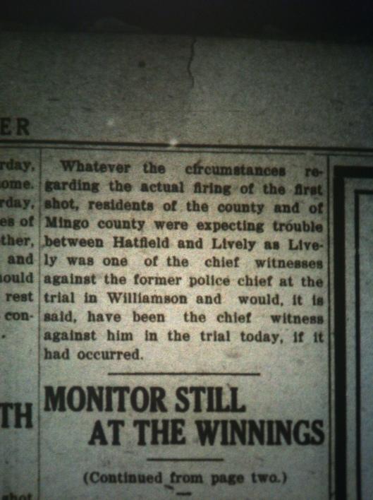 Sid Hatfield Shot to Death LB 08.05.1921 6