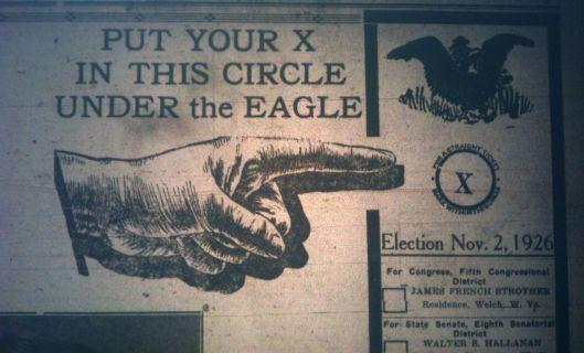 Vote GOP LB 10.26.1926