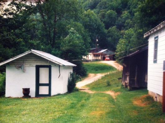 Ben Adams homeplace on Trace