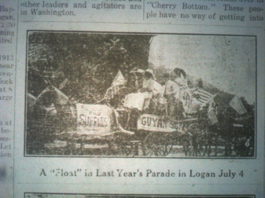 Float in Last Year's Parade LB 05.16.1913.JPG