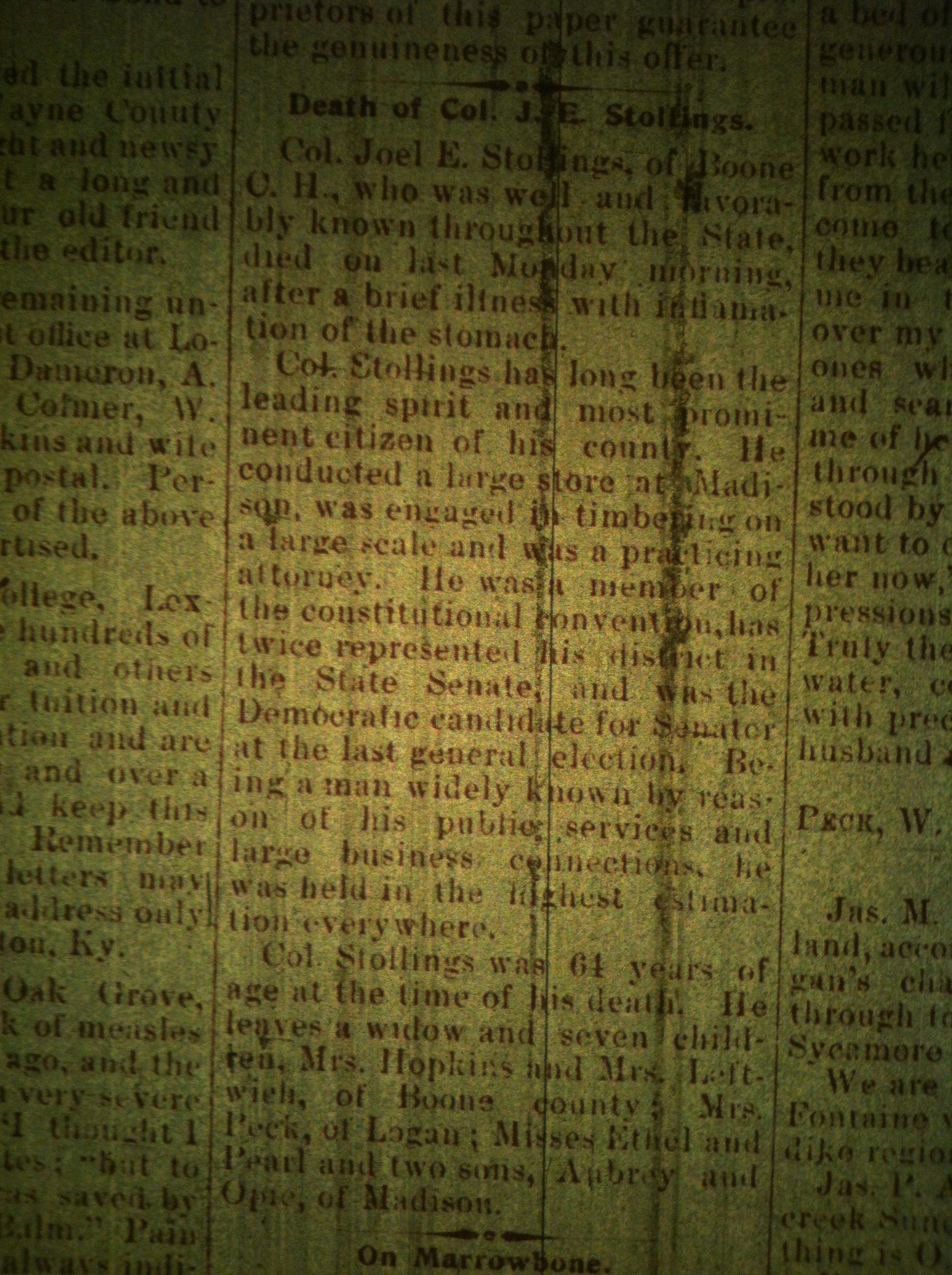 Joel Stollings obit LCB 10.02.1897 1.JPG