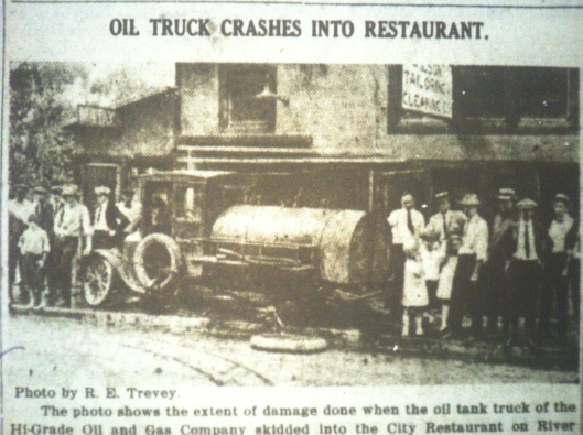 Oil Truck Crashes Into Restaurant Photo LB 09.23.1921 2.JPG