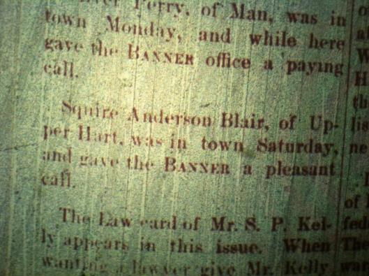 Squire Anderson Blair LCB 01.09.1890 2