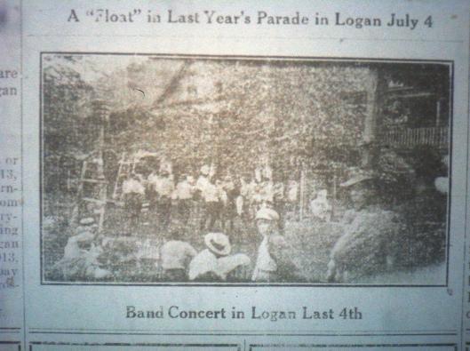 Band Concert in Logan LB 05.16.1913.JPG