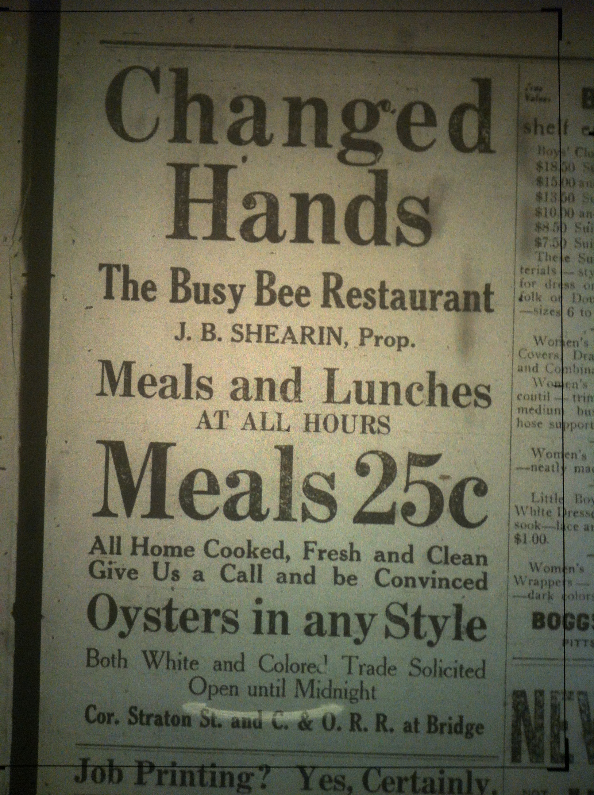 Busy Bee Changes Hands LB 01.10.1913 1.JPG