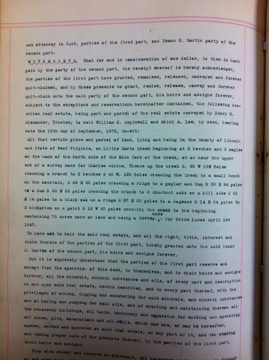 J.I. Kuhn to Isaac G. Gartin DB53 p281 LiC 2
