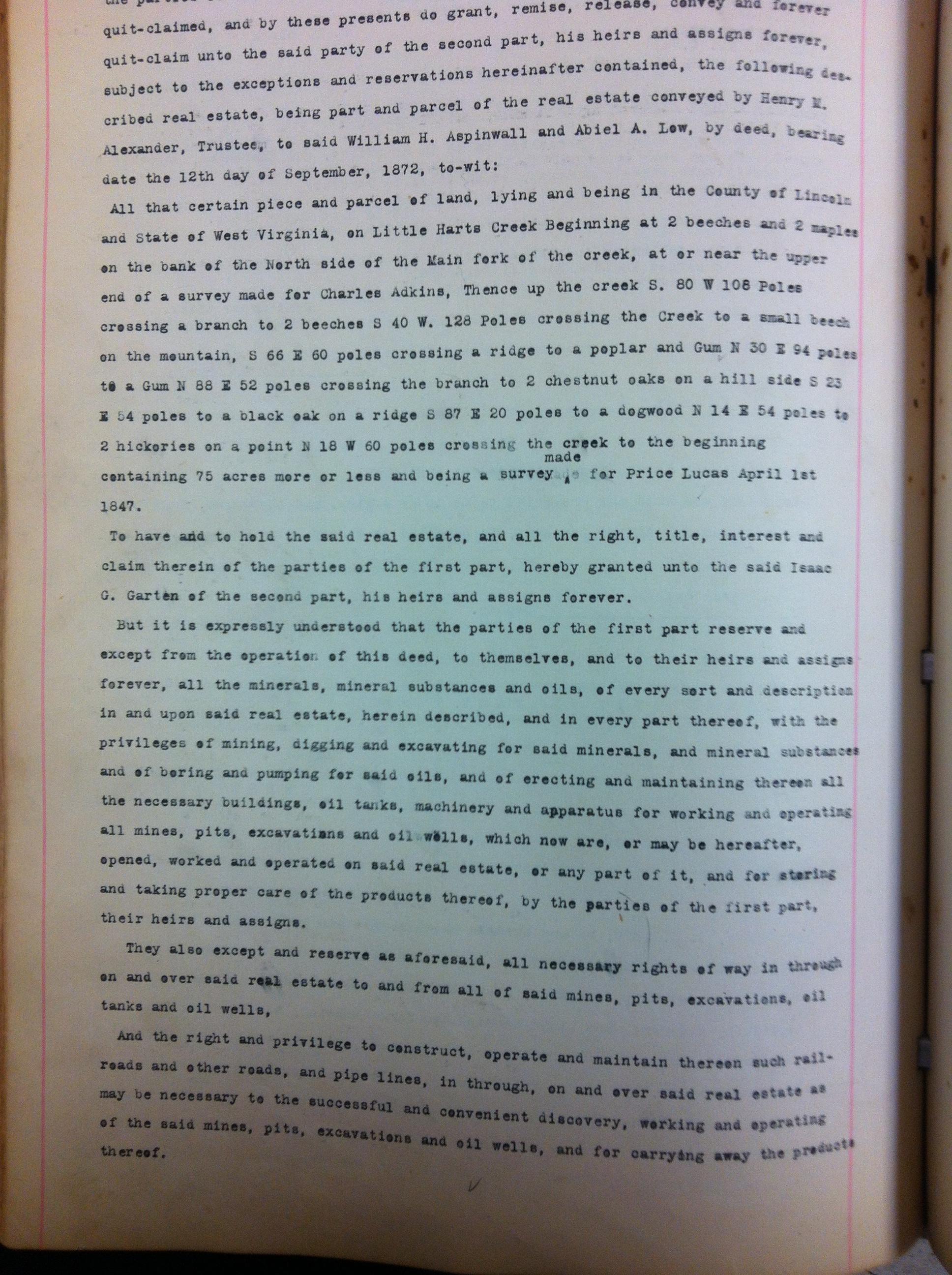 J.I. Kuhn to Isaac G. Gartin DB53 p281 LiC 3