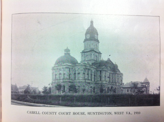 Cabell County Courthouse, 1910 2.JPG