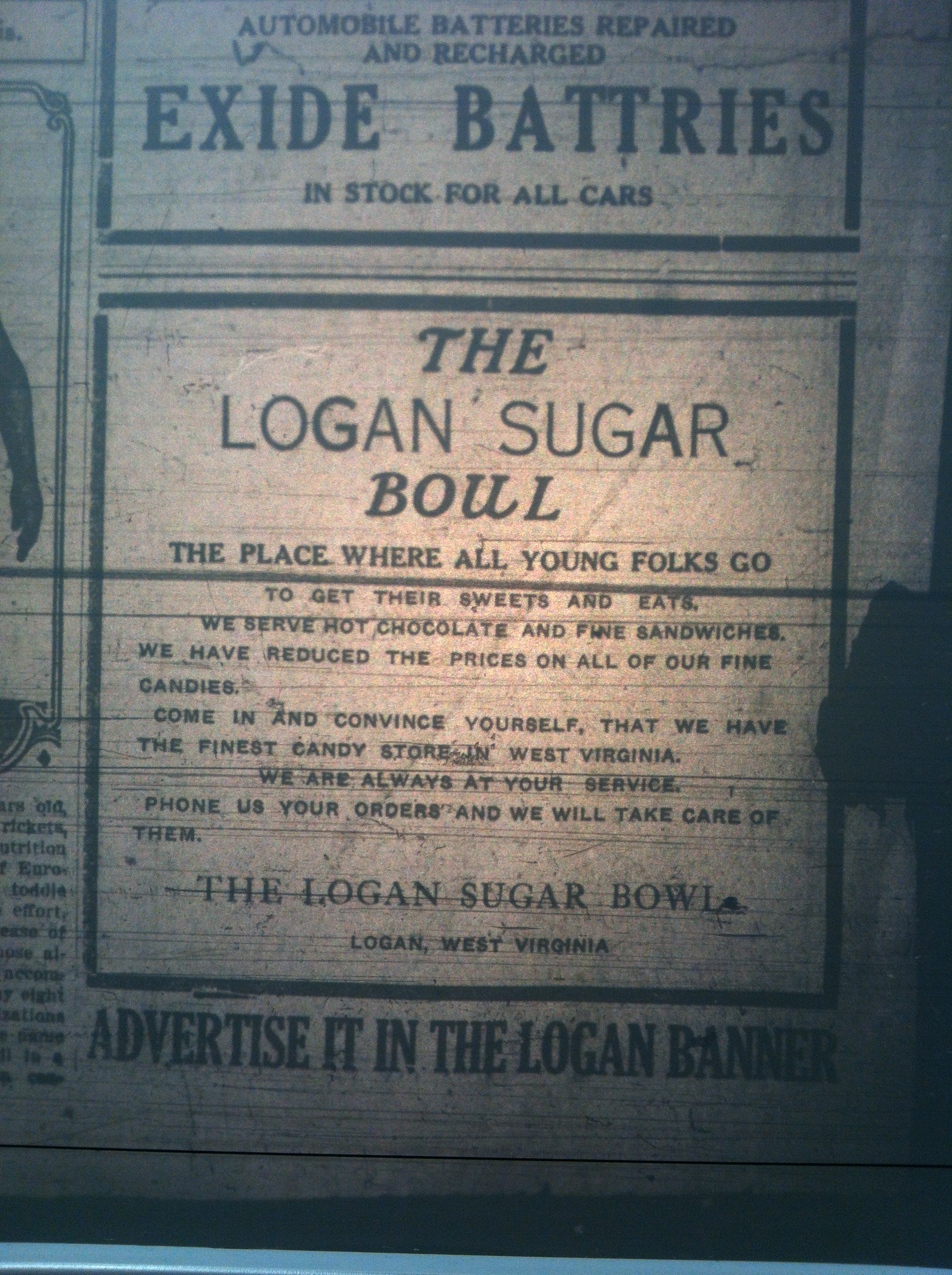 Logan Sugar Bowl Ad LB 01.14.1921.JPG
