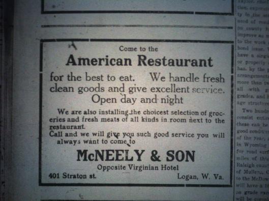 American Restaurant Ad LD 12.14.1916.JPG