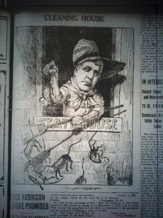 Cornwell Political Cartoon LD 10.26.1916