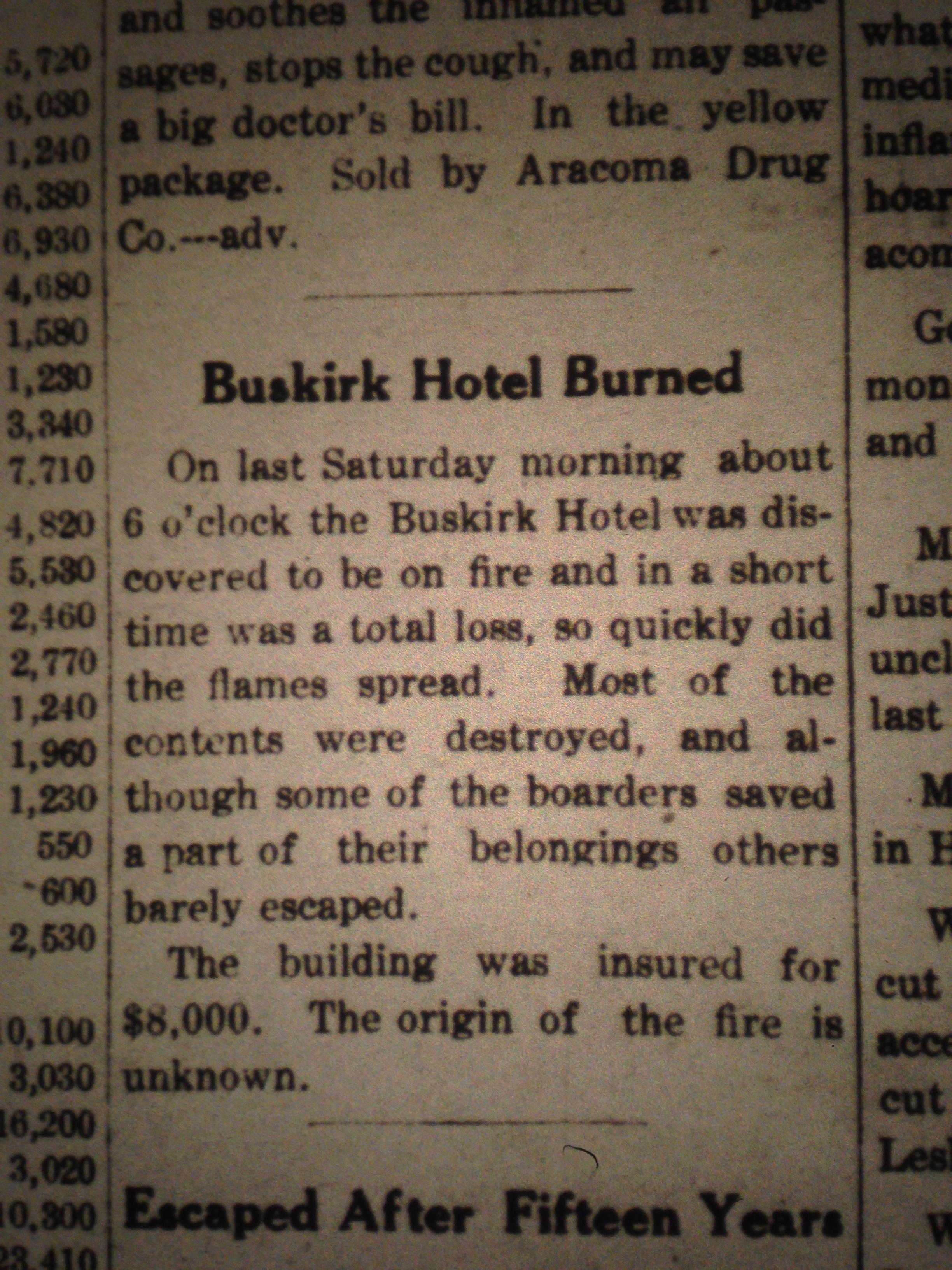 Buskirk Hotel Burns LD 01.09.1913.JPG