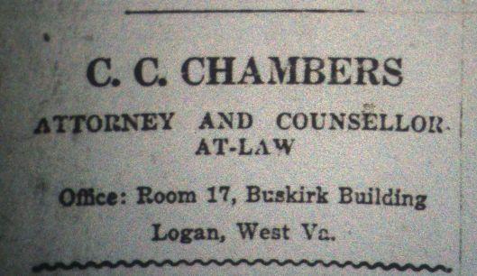 C.C. Chambers Ad LD 10.26.1916.JPG