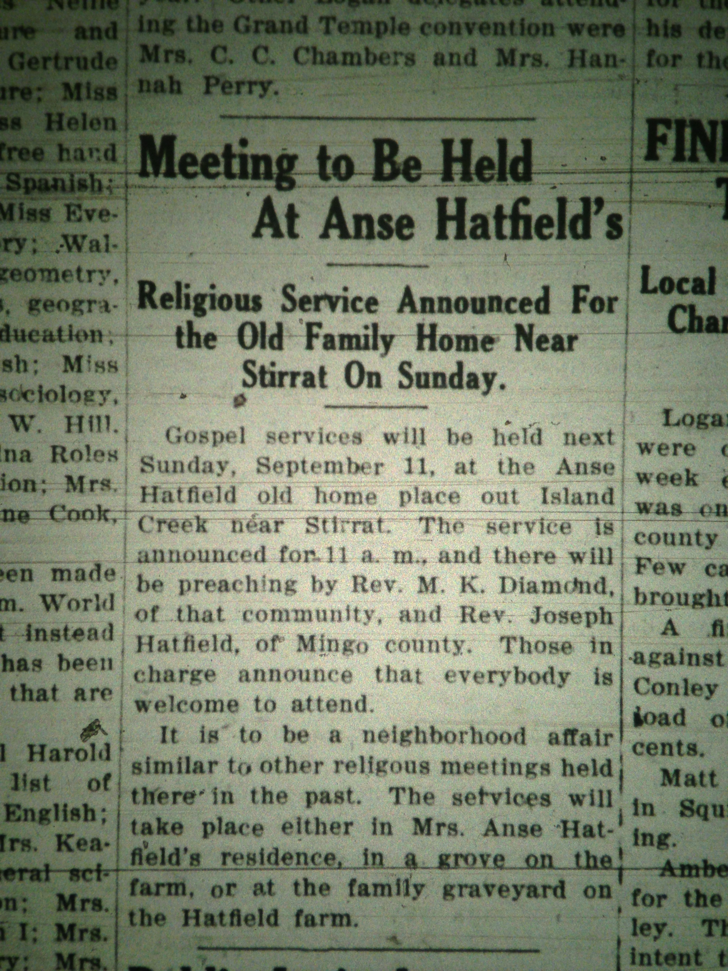 Church Meeting at Anse Hatfield's Home LB 09.06.1927 1.JPG