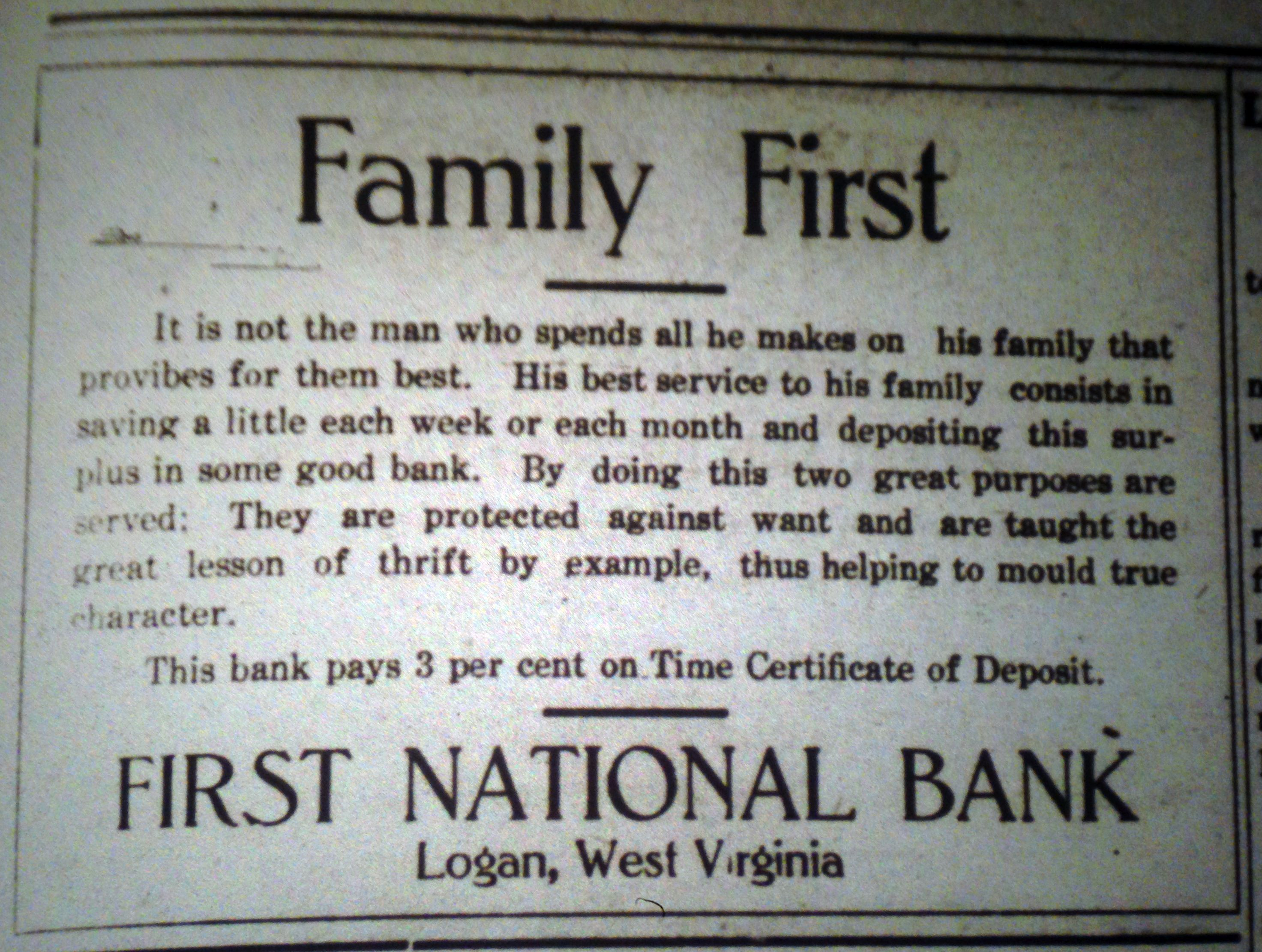 First National Bank Ad LD 01.02.1913.JPG