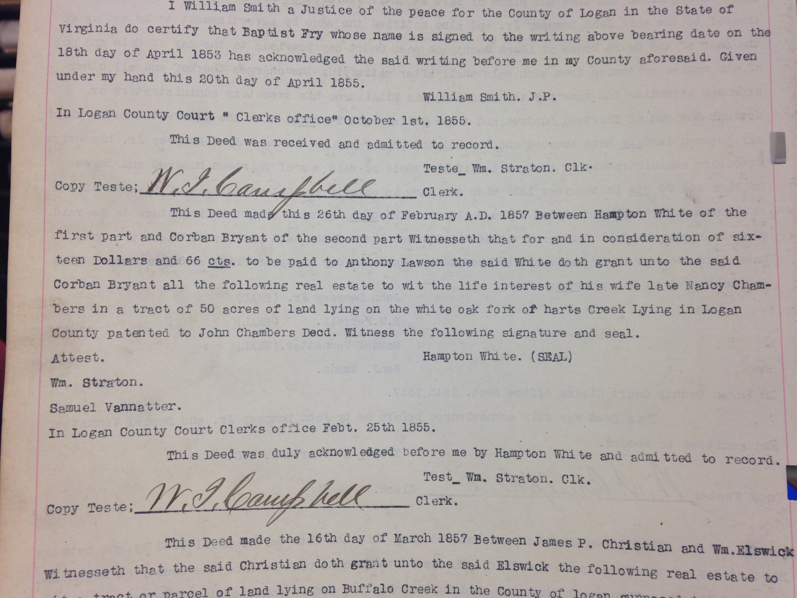 Hampton White to Corbin Bryant Deed 1.JPG