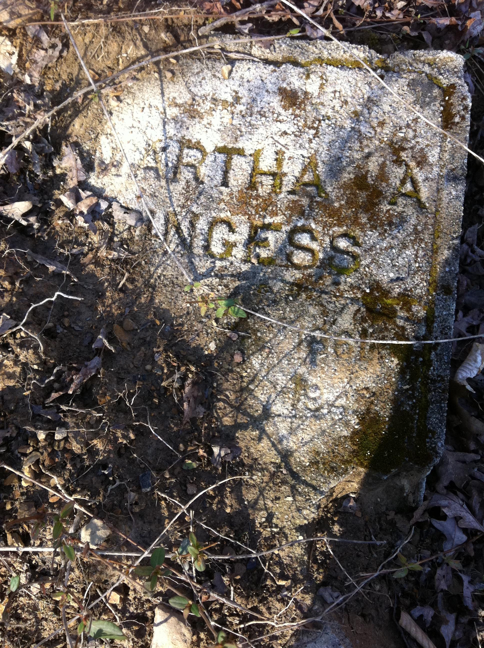 Martha Ann Bryant Dingess Grave