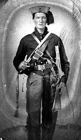 34th Ohio Volunteer Infantry Regiment, Piatt's Zouaves Soldier Photo