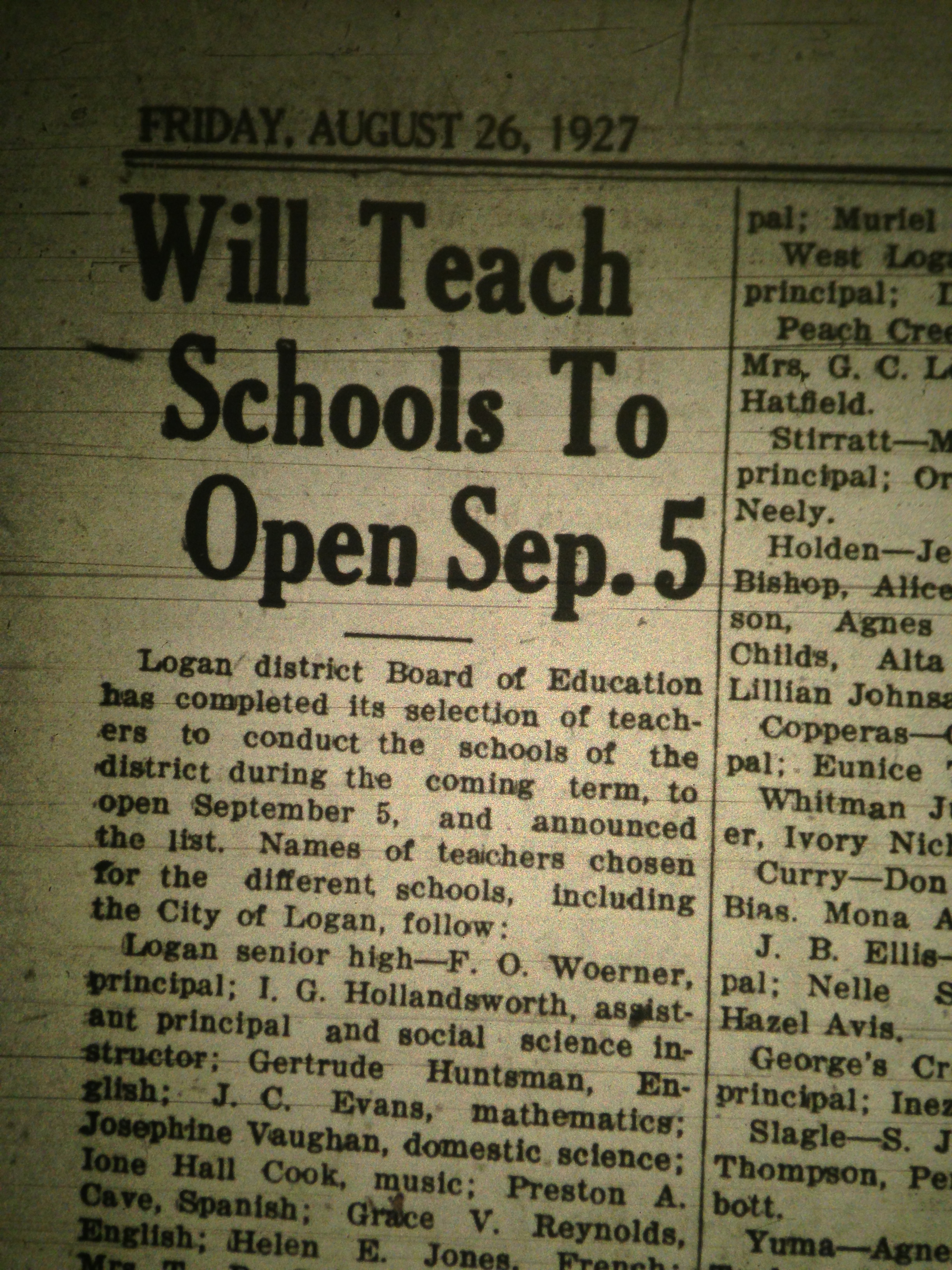 Logan District Colored Schools LB 08.26.1927 1