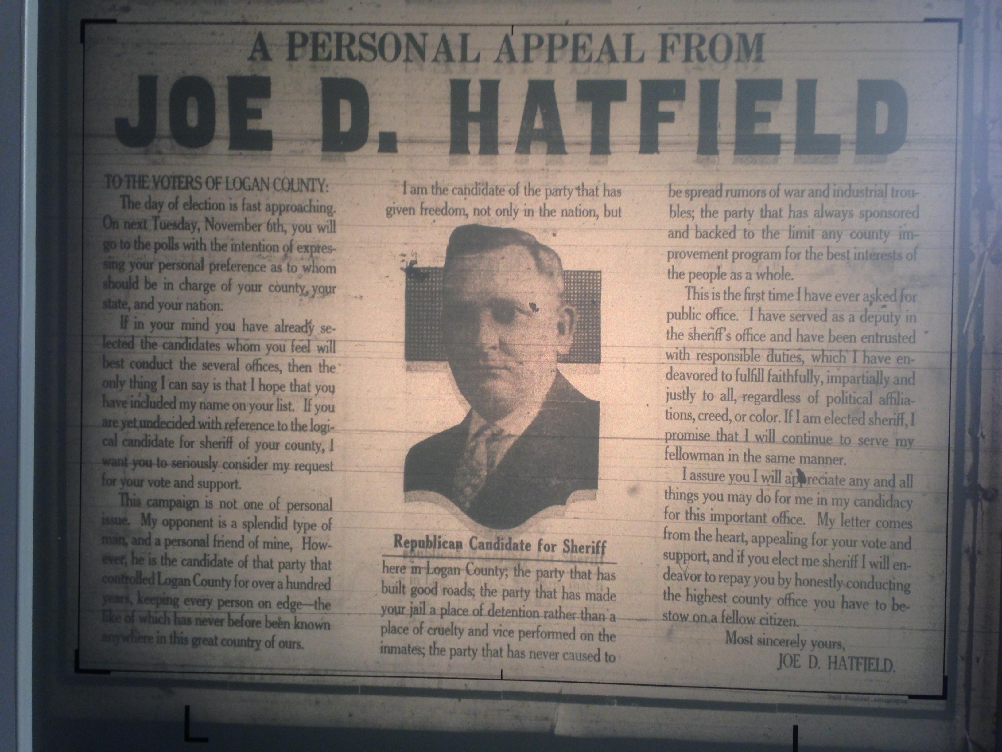 Joe Hatfield Personal Appeal LB 10.30.1928 1.JPG