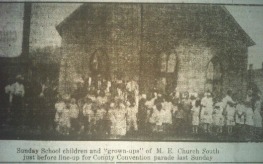 Sunday School, M.E. Church South LB 07.03.1914 1.JPG