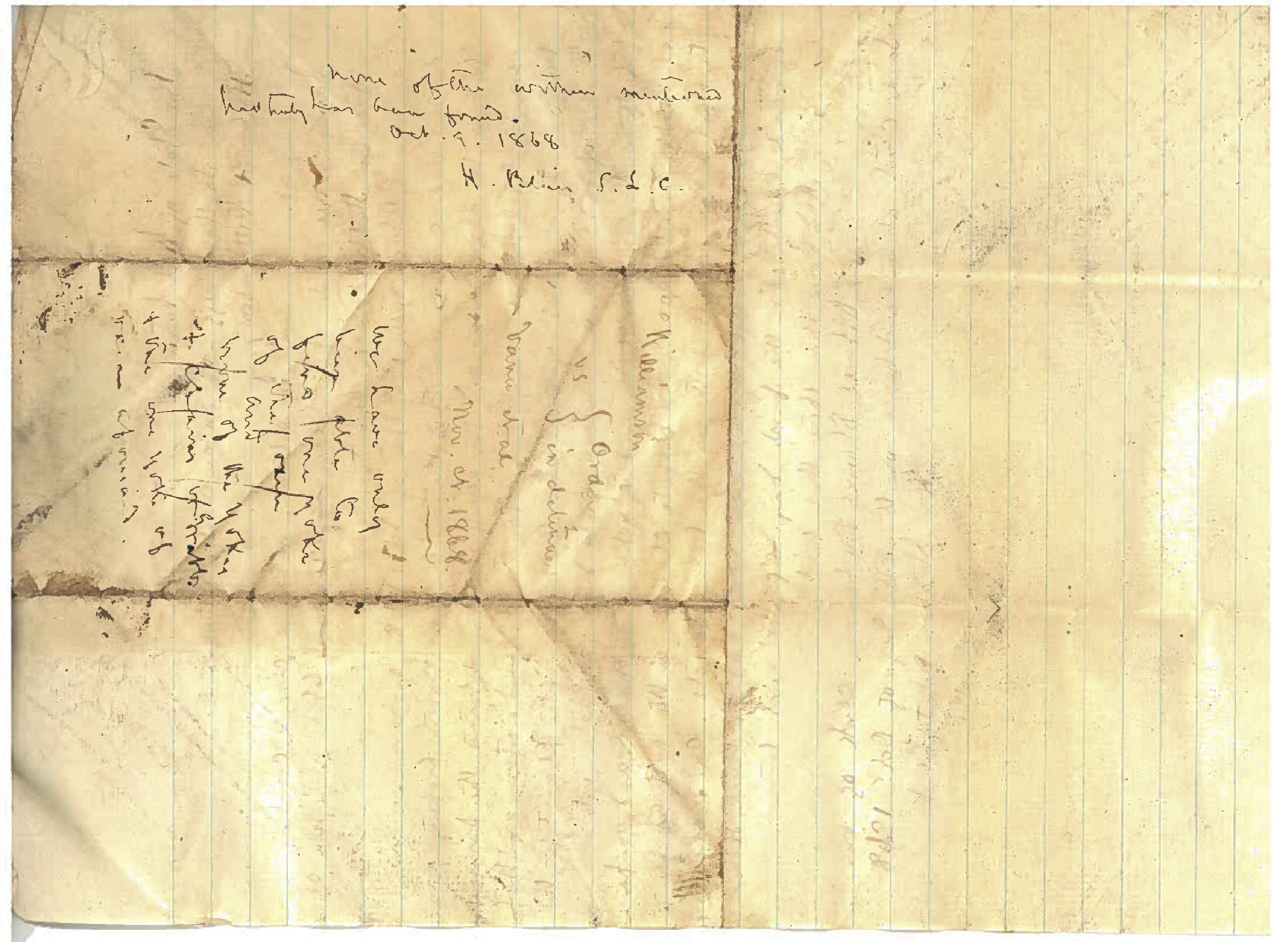 Anderson Hatfield and James Vance Document 1868 7