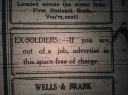 Ex-Soldiers Ad LB 07.21.1922.JPG