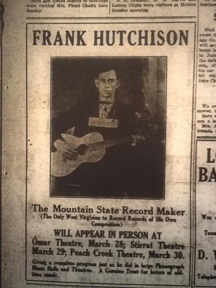 Frank Hutchinson LB 03.25.1927