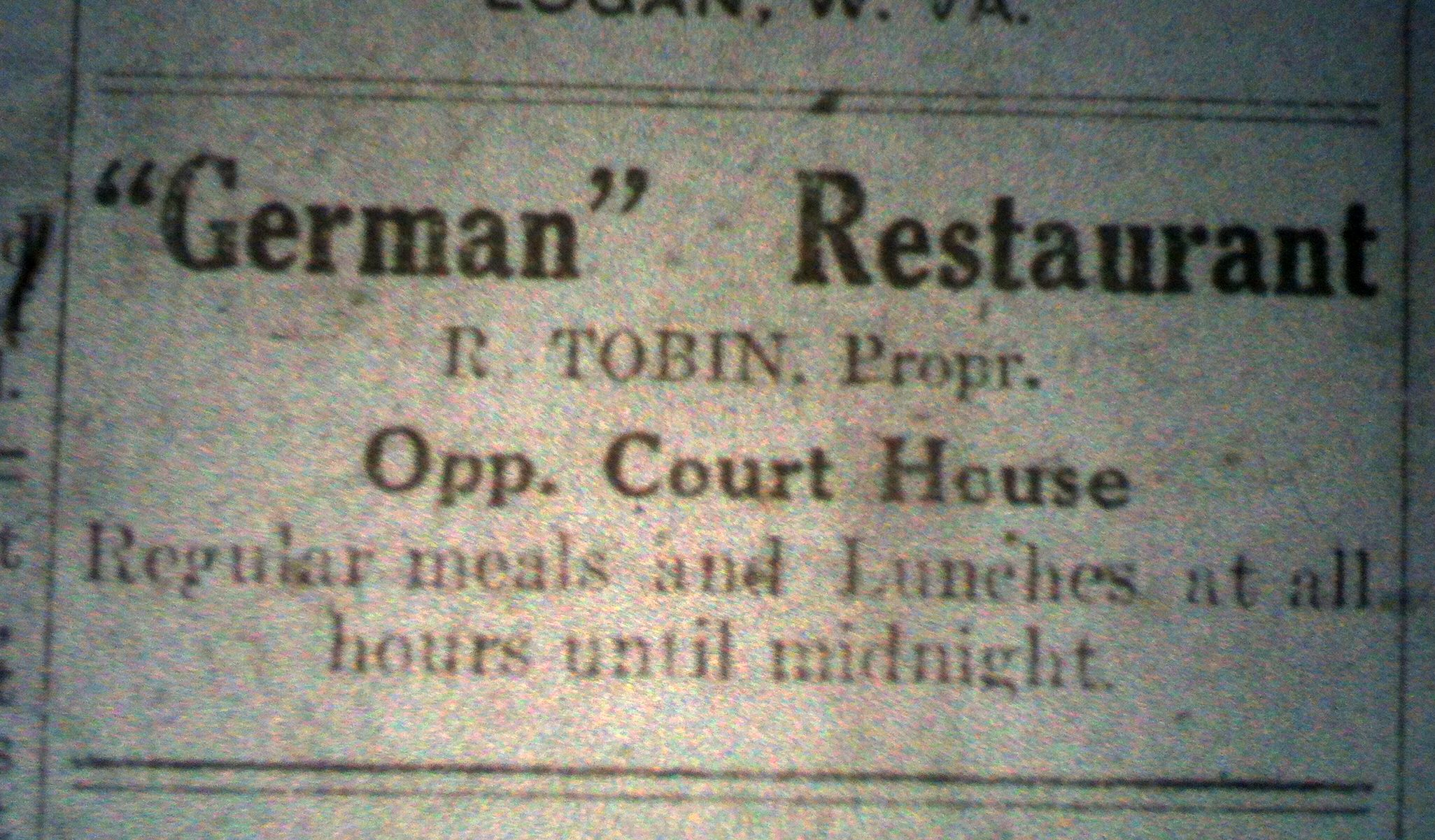 German Restaurant Ad LB 06.20.1913.JPG
