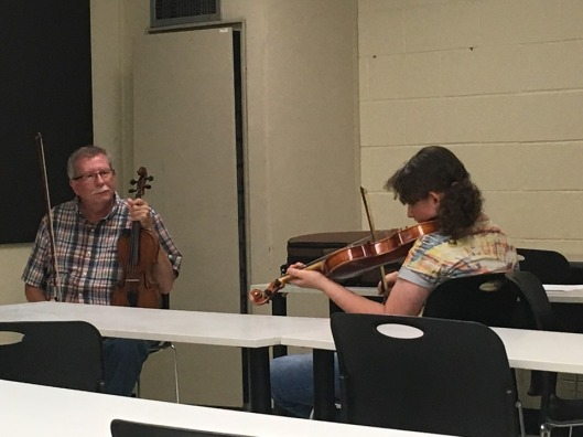 Bobby Taylor in Old-Time Fiddle Workshop